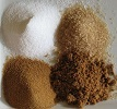 natural brown, powdered and white sugars that do not have high fructose corn syrup